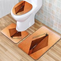Philosophical Meaning 3d Bathroom Sets Bath Mat Set Mats And Rugs Rug Toilet