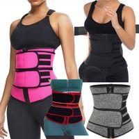 Stock Taille Taille Entraîneur Corset Néoprène Sweat Tummy Minunmmeur Sport Shaply Respirant Fitness Fitness Strap Strap Share