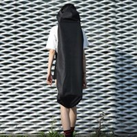 Ajustável Black Longboard Backpack Skate Carry Bag Dance Board Drift Viagens Rucksack Shouler Imparar Skateboarding