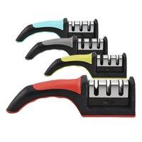 Простые быстрые ножницы для ножницы для дома для домашних нескользящих для ножей для ножей блоки кухонные лезвия заточка гаджетов инструментов аксессуары