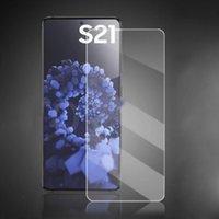 2.5D 강화 유리 스크린 프로텍터 삼성 S21 S21Plus S20FE S20Lite A01 A02S A12 A32 A42 A72 A3 코어 F12 F12S F41