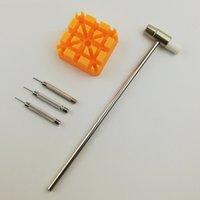 Bracelet Link Remover Tool Tool Hammer Punch Punchs Strap Support Kit mètres de l'accessoires de compteur Outils
