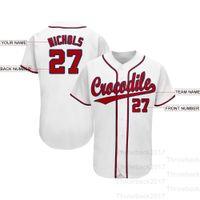 Custom Baseball Jersey a106 city Seattle Texas Men Women Youth size S-3XL Jerseys