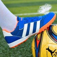 Nail's Nail Sapatos Quebrados Homens Mulheres Respiráveis Boys 'e Escola Primária Estudantes Treinamento de Futebol Z63i