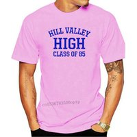 Yeni Hill Vadisi Geleceğe Geri Dön BTTF Flux Vintage Bakış T-shirt Boyutları S-5X-3078D