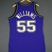 Benutzerdefinierte Bucht Jugendfrauen Vintage Jason Williams Mitchell Ness 98 99 College Basketball Jersey Größe S-6XL oder benutzerdefinierte Name oder Anzahl Jersey