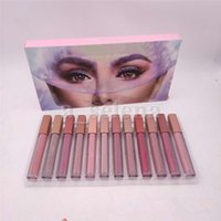Lips Trucco Liquido Liquid Rossetto 12pcs / Set Lipgloss Lip Gloss Gloss Matte Lunga durata LIPTICKS