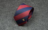 abeja cuello corbatas hombres clásico seda corbata corbata para hombre corbatas de corbatas delgadas corbatas corbatas para camisa de traje de fiesta de boda con casual