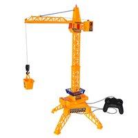 30 polegadas Alto Controle Remoto Remoto Craneler Guindaste Elétrico RC Construção Crane Tower Brinquedos Educativos para Crianças