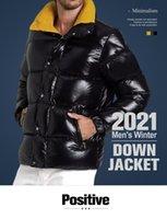 Mens Jacket Down Parkas 클래식 캐주얼 겨울 코트 야외 깃털 유지 따뜻한 Doudoune Homme 유니섹스 코트 겉옷 후드 냉간 보호 방폭