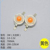 Paquete de bolas de luz Paquete de carrete Amarillo LED diodo 3W CHIP CHIP A NARANJA, 1000pcs / lote
