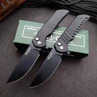 PROTECH MORDAX666 Alta durezza Pieghevole coltello da campeggio da esterno Coltelli tascabile da campeggio Portatile EDC Tool HW595