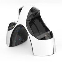 Für PS5 Game Console Griff DualProtocol Ladegerät Dual Joysticks Ladebasis mit LED-Light PlayStation S5 Wireless Controller-Ladegeräte