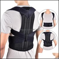 Waist Safety Athletic Outdoor As Sports & Outdoorswaist Support Back Posture Magnetic Shoder Corrector Brace Belt Therapy Men Women Straight