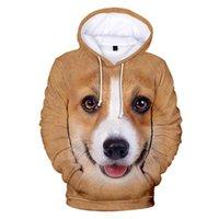 Mens Designer t shirts Casual Print Animal Dog 3D Hoodies Men Women Sweatshirts Harajuku Hooded Autumn Boys Girls pullovers