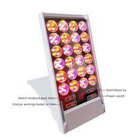 4 파장 컬러 LED 라이트 페이셜 여드름 치료 피부 회춘 광자 치료 뷰티 장비 PDT 기계