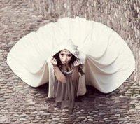 Wraps & Jackets White Shawl Long Satin Wedding Cloak Bridal Jacket Coat Accessories