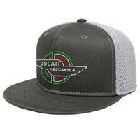 Ducati Мотоциклы Logo4 Unisex Flat Bril Trucker Cap Cool Vintage Baseball Hats Ducati Corse Motorcycle Logo Moto Logo Logo3 Logo2 3D