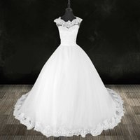 White wedding dress autumn 2021 new beauty high-end customization DHW045
