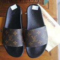 Classics Designer Sandals Slipper Slide Sandalo Sandalo Broccato Floral Broccato Donne / Uomini Scarpe Ingranaggi Flip Flops Donne Donne Spiaggia Spiaggia Spiaggia Causa Slifts UE: 35-45 01