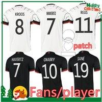 ألمانيا 2021 National Soccer Jersey Hummels Kroos Volland Reus Muller Gnabry Sane Gundogan Deutschland Player - Fans Version قمصان كرة القدم رجل Kids Kit