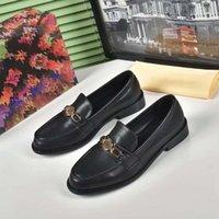 Menores de vestir de lujo zapatos para hombre mocasines para hombre París de cuero genuino Gommino Walk Wedding Business Drive Classics Zapato Tamaño 42