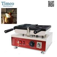 PCS Ayı-Şekli Elektrikli Büyük Açık Ağız Dondurma Ayı Waffle Maker Taiyaki Baker Makinesi Ekmek Makineleri
