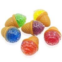 Dekompression Zappeln Spielzeug Eiscreme Traubenblase Perlenball Spielzeug Squishy Stress Relief Squeeze TPR Prise Vent