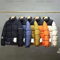 رجل مصمم ستر أزياء الشتاء أسفل جاكيتات معطف إمرأة مبطن سترة زوجين سميكة الشتاء الدافئ ملابس خارجية حجم S-2XL