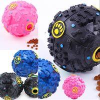 Giocattoli per cani Pet Cucciolo Sound Ball Perdita Food Ball Sound Toy Ball Pet Dog Cat Squeaky Mastica Cucciolo Squeaker Sound Pet Forniture 297 S2