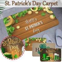 St. Patrick's Day Decoration Door Mat Non-slip Bottom Indoor Outdoor Carpet Entrance Doormats Bedroom Bathroom Mats Decor #4 Bath
