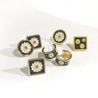 Stud Fashion Earrings For Women Jewelry Piercing Brincos 2021 Trand Ear Cuff Woman Summer Rings Statement Bijoux