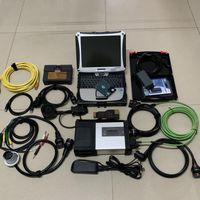3w1 dla BMW ICOM A2 MB Star C5 A.UDI V.W 5054A OKI ODIS6.2 z oprogramowaniem w 2TB HDD używany Laptop CF-19 dla Auto Diagnose