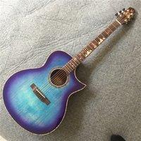 2021 فينيدا الصلبة الأعلى الغيتار الصوتية 40 بوصة روزوود الأصابع الخالية من الشحن.