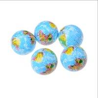 2021 TOY POP Fidget PU PU FUMAMED EARTH EARTE 63mm Espuma desempaquetar juguetes para niños Presión de enseñanza Bola de presión