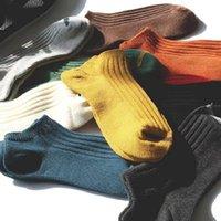 Lovers socks men's socks men's short tube pure cotton low top boat socks thin spring and autumn women's sweat summer