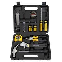 12pcs conjunto de ferramentas de mão conjunto geral kit de reparo doméstico com caixa de armazenamento caixa de armazenamento caixa chave chave chave faca de faca profissional conjuntos