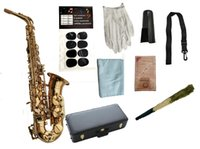 Юпитер JAS-769-II ALTO EB TUNE Saxophone Новый бренд E плоский музыкальный инструмент Латунный золотой лак SAX с корпусом и аксессуарами