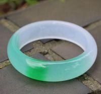 Полувелочный изумрудный нефритовый браслет натуральный кварц нефритовый браслет женский а-нефритовый браслет
