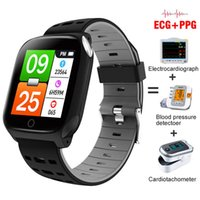 Smart Watch ECG+PPG Measurement Blood Pressure Heart Rate Incoming Reminder Information Fitness Tracker Sport Step Wristwatch Bracelet PK IWO 13 Pro Smartwatch