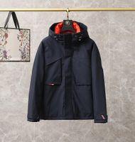 Luxus Frankreich Herren Herunterjacke Brief Monclair Logo Gestrickte Frauen Parkas Panel Casual Coats Bomber Jacken Designer Männer Sattel M001