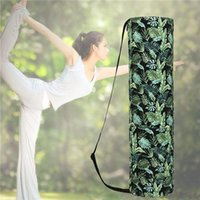 Print Yoga Bag 69*19 Cm Mat Canvas Waterproof Gym Fitness Wo...