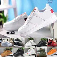 Alta calidad PeaceminusOne X Fuerzas Mid Elevando zapatos WMNS Sombra Tropical Twist Sneakers Entrenador Todo Blanco Corte bajo One 1 Dunk Shoes T5-B3