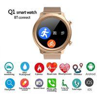 2021 Latest smartwatch OEM Full Round Touch Screen Sports Smart Watch bracelet Heart Rate Pedometer wrist