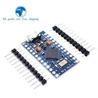 Circuits intégrés TZT Pro Micro ATMEGA32U4 5V 16 MHz Remplacer ATMEGA328 pour ARDUINO MINI AVEC ARDUININO MINI AVEC INTERFACE USB LEONARDO LEONARDO