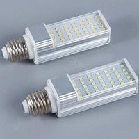Lâmpadas 5W 7W 9W 11W 13W 15W LED LED G23 E27 G24 Plug Horizontal Luz de milho AC 85-265V