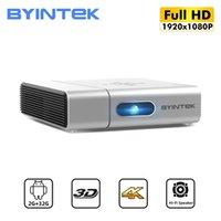 Byintek U50 Full HD 1080P Mini 3D 4K Android Smart TV WiFi LED Portable LED PROYECTOR PROYECTOR Proyector para Smartphone Cinema PC 210609