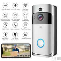 الذكية الجرس جرس الدائري كاميرا مكالمة هاتفية نظام إنترفون شقة باب فيديو عين واي فاي