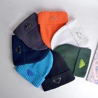 P дизайнер мужской шаповой шапочки роскошный череп шляпа вязаные шапки лыжные шляпы Snapback маска установлена унисекс зимний кашемир повседневный открытый мода высокое качество 7 цвет