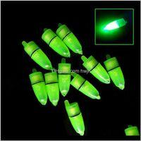 Aessories Sports & Outdoors 10 Pcs Led Light Fishing Floats Bobber Rod Bite Flotteur De Peche Outdoor Night Fish Equipment Balik Avlama Malze